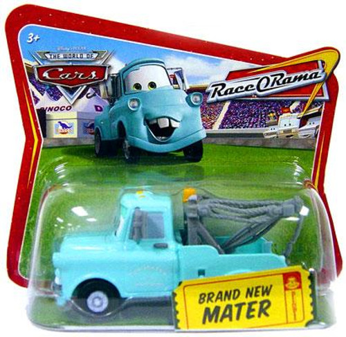 Disney Cars The World of Cars Race-O-Rama Brand New Mater Diecast Car [Checkout Lane Package]