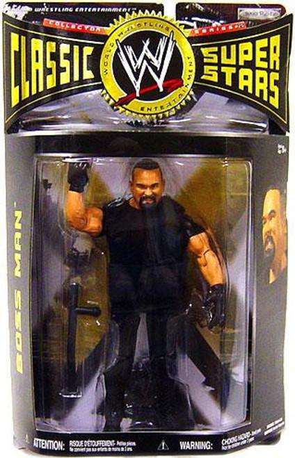 WWE Wrestling Classic Superstars Series 25 Boss Man Action Figure