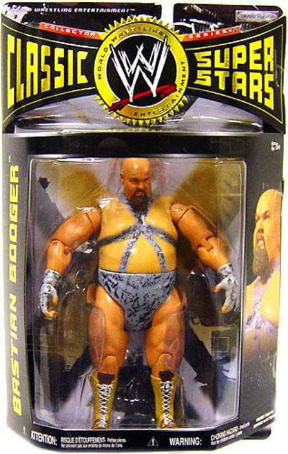 WWE Wrestling Classic Superstars Series 25 Bastion Booger Action Figure