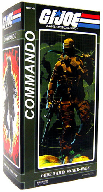 GI Joe Snake Eyes 1/6 Collectible Figure [Commando]