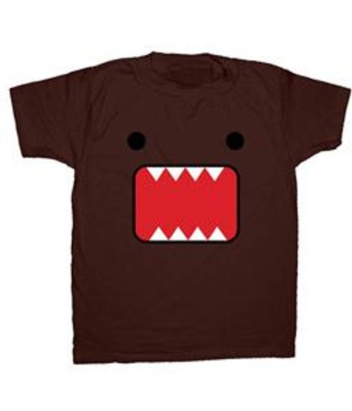 Domo Face T-Shirt [Adult Small]