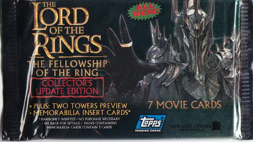 The Lord of the Rings The Fellowship of the Ring Trading Card Pack [Update Edition]