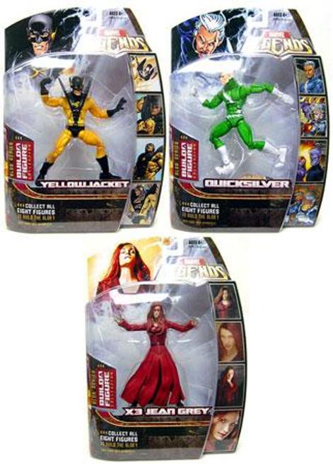 Marvel Legends Series 17 Blob Series 17 Set of 3 Variant Action Figures