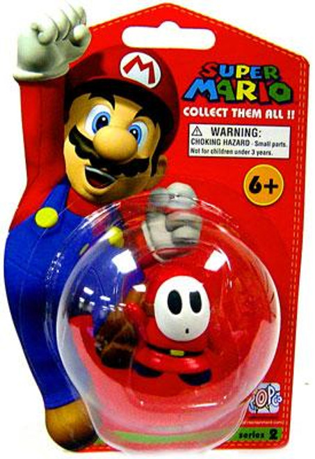 Super Mario Bros Series 2 Shy Guy Vinyl Mini Figure