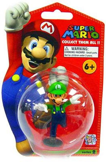 Super Mario Bros Series 2 Luigi Vinyl Mini Figure