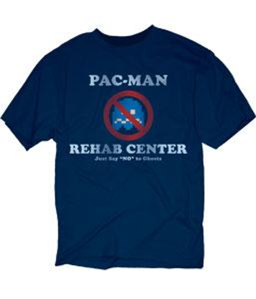 Pac Man Rehab Center T-Shirt [Adult Small]