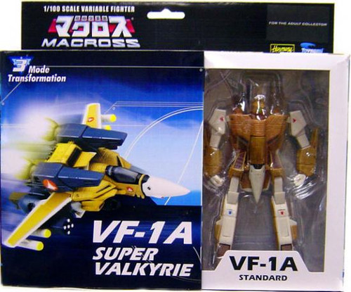 Macross Transformable Series 3 VF-1A Standard Super Valkyrie Action Figure