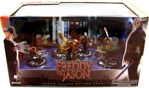 Freddy Vs Jason Freddy vs. Jason Action Figure 7-Pack