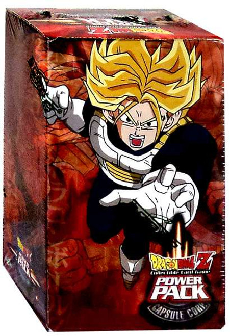 Dragon Ball Z Collectible Card Game Capsule Corp. Power Pack [Trunks Box]
