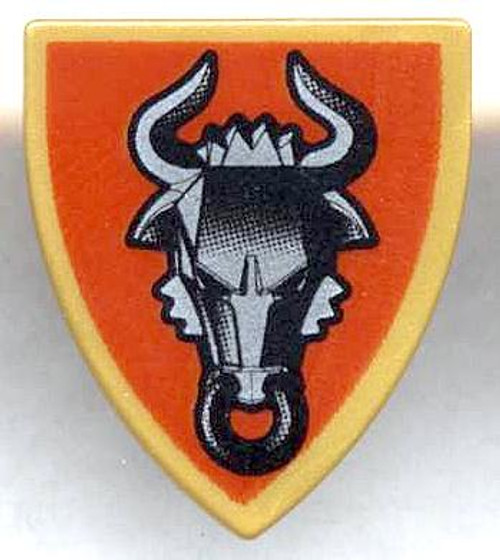 LEGO Castle Shields Small Bull Shield #4506823 [Loose]