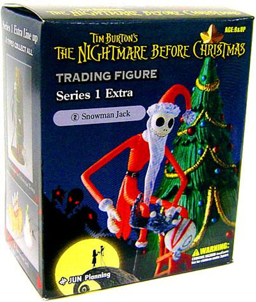 The Nightmare Before Christmas Series 1 Extra Snowman Jack Trading Figure #2