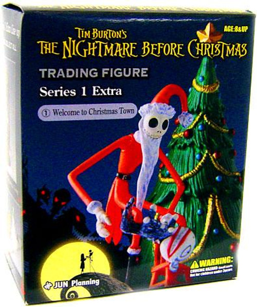 The Nightmare Before Christmas Series 1 Extra Welcome to Christmas Town Trading Figure #1