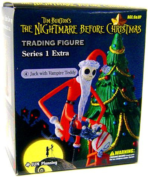 The Nightmare Before Christmas Series 1 Extra Jack with Vampire Teddy Trading Figure #4
