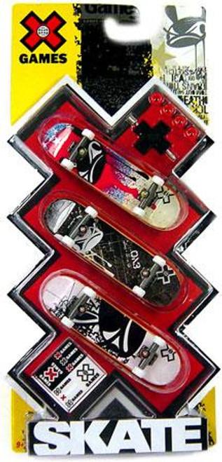 X Games Extreme Sports Evo Mini Skateboard 3-Pack