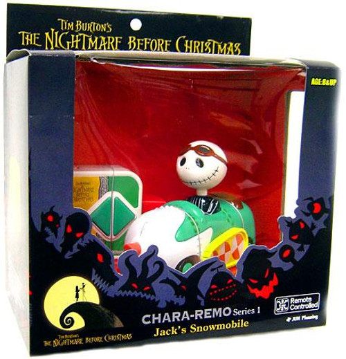 The Nightmare Before Christmas Chara-Remo Series 1 Jack's Snowmobile R/C Vehicle
