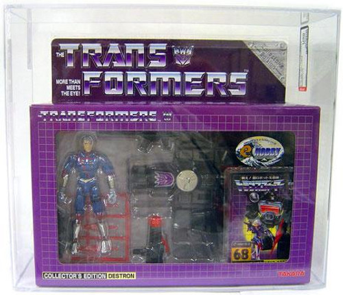 Transformers Japanese Collector's Edition Destron Magnificus Exclusive Action Figure [AFA 90] [AFA Graded 90]