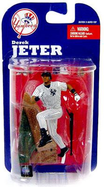 McFarlane Toys MLB New York Yankees Sports Picks 3 Inch Mini Series 7 Derek Jeter Mini Figure