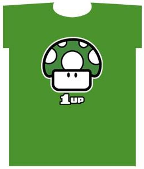 Nintendo Green 1-Up Mushroom T-Shirt [Adult]