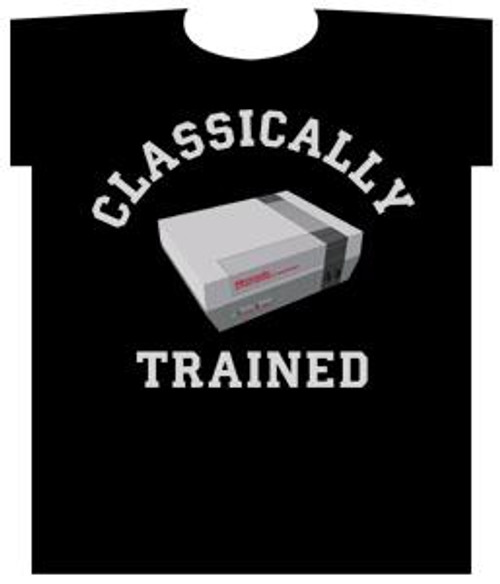 Nintendo Classically Trained T-Shirt [Adult Small]