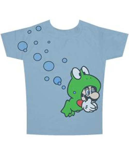 Super Mario Frog T-Shirt [Adult]