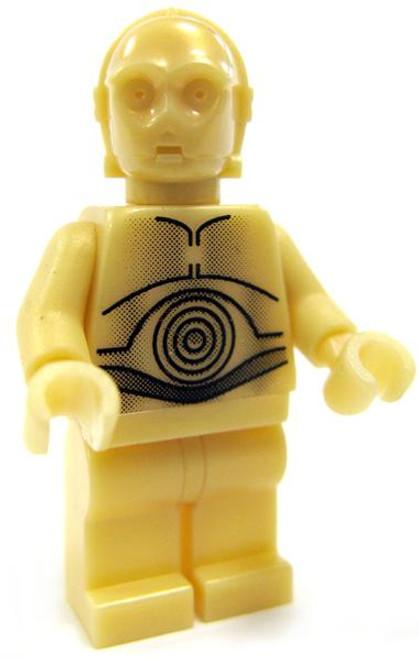 LEGO Star Wars Loose C-3PO Minifigure [Light Gold Pearl Loose]
