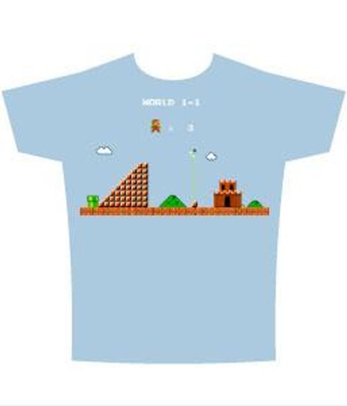 Super Mario Castle T-Shirt [Adult XL]