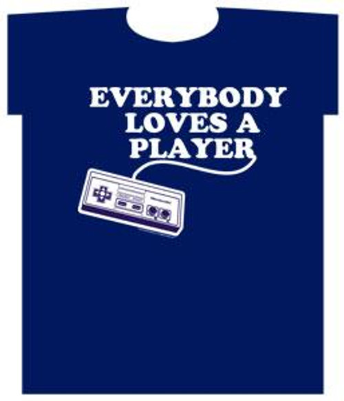 Nintendo Everybody Loves A Player T-Shirt [Adult Small]