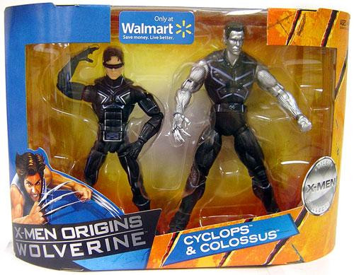 X-Men Origins Wolverine Cyclops & Colossus Exclusive Action Figure 2-Pack