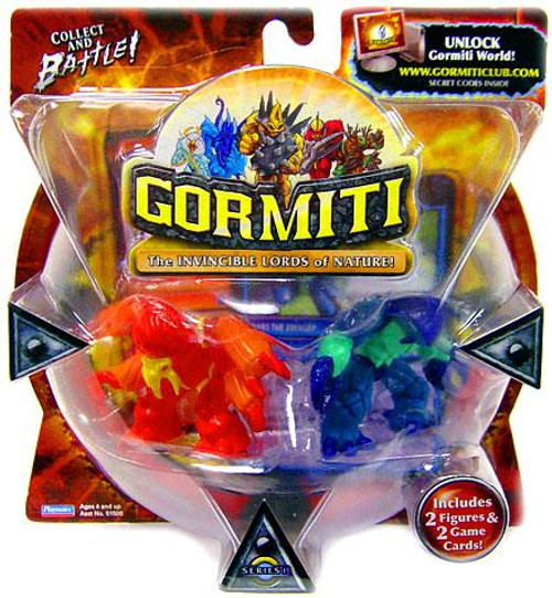 Gormiti Series 1 Spider the Cruel & Crabs the Avenger Mini Figure 2-Pack [Random Colors]