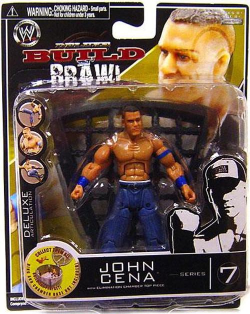 WWE Wrestling Build N' Brawl Series 7 John Cena Action Figure