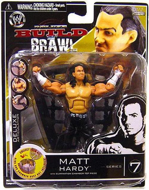 WWE Wrestling Build N' Brawl Series 7 Matt Hardy Action Figure