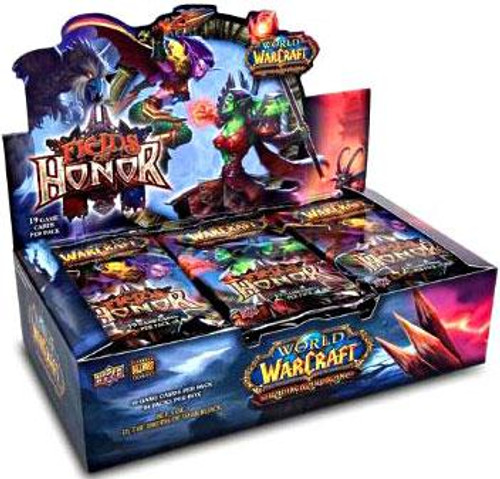 World of Warcraft Trading Card Game Fields of Honor Booster Box