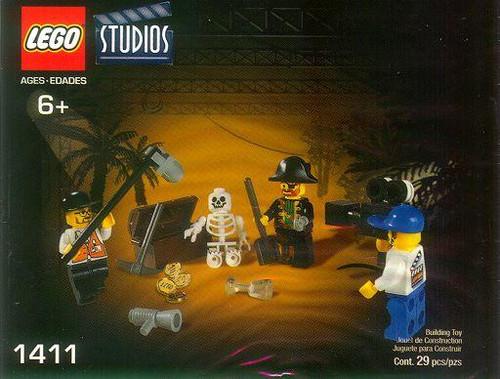LEGO Studios Pirates Treasure Hunt Set #1411