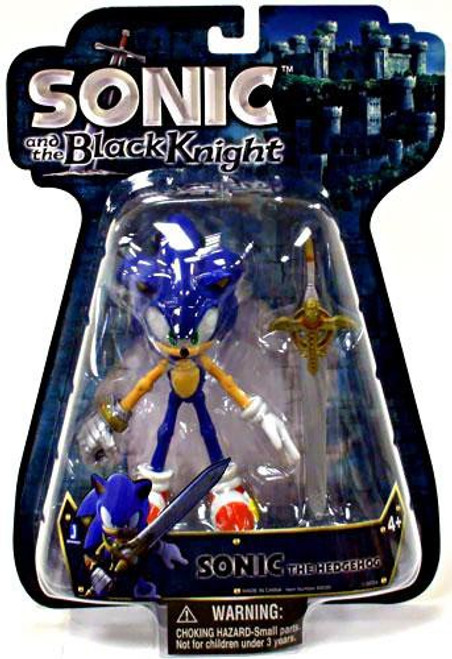 Sonic and the Black Knight Sonic the Hedgehog Action Figure [With Sword]