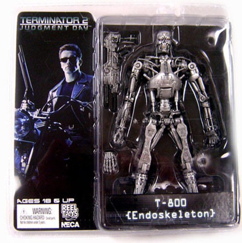 NECA The Terminator Terminator 2 Judgment Day Series 2 T-800 Action Figure [Endoskeleton]