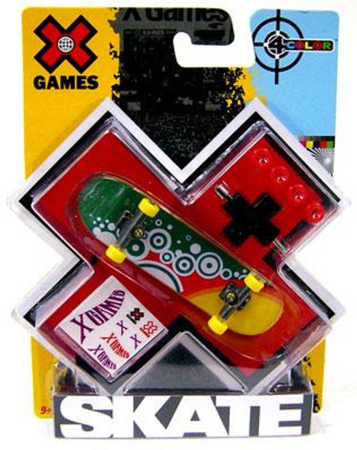 X Games Extreme Sports 4 Colors Bubbles Mini Skateboard