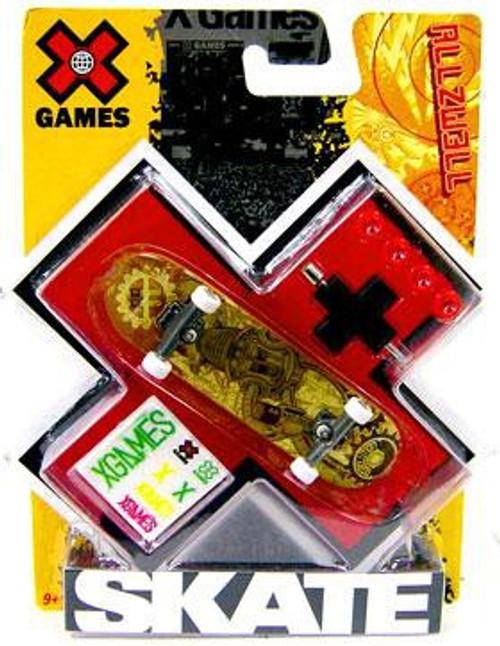 X Games Extreme Sports Allzwell Battery Robot Mini Skateboard