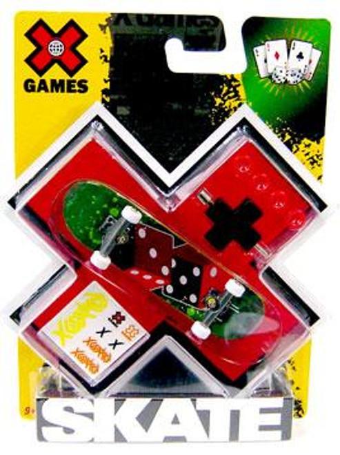 X Games Extreme Sports Dice Mini Skateboard