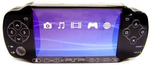 Playstation PSP Blue Rasberry Candy Tin