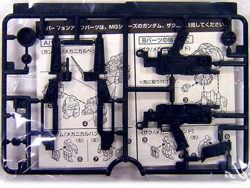 Master Grade Gundam Zaku Part 1/100 Model Kit [Beam Rifle]