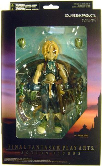 Final Fantasy IX Play Arts Kai Zidane Action Figure