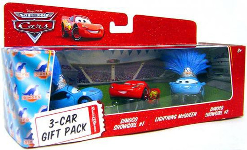 Disney Cars The World of Cars Multi-Packs Dinoco Showgirls 3-Car Gift Pack Diecast Car Set