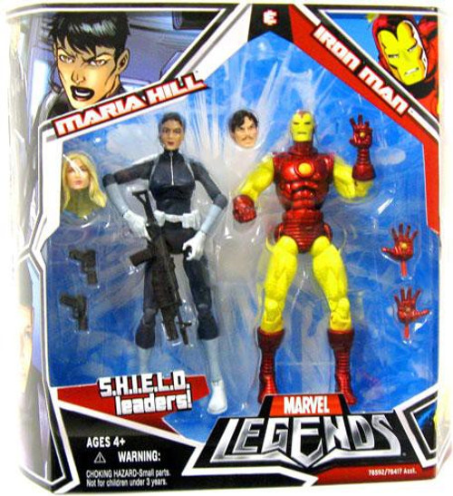 Marvel Legends Iron Man & Maria Hill Action Figure 2-Pack
