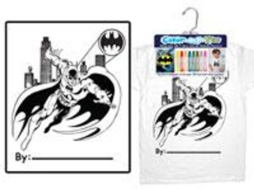Color My Tee Batman T-Shirt [Child Small]