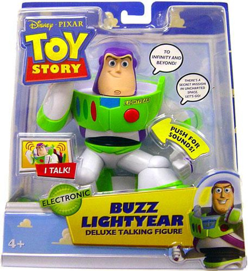 Disney Toy Story 2 Buzz Lightyear Action Figure [Deluxe Talking]