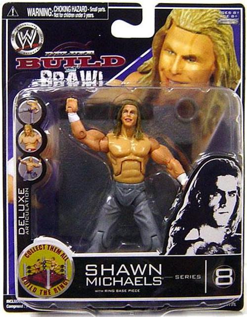 WWE Wrestling Build N' Brawl Series 8 Shawn Michaels Action Figure