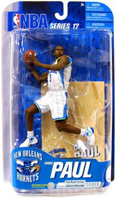 McFarlane Toys NBA New Orleans Hornets Sports Picks Series 17 Chris Paul Action Figure [White Jersey]