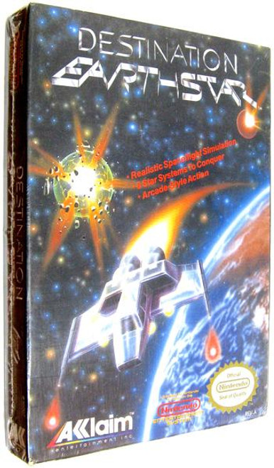 Nintendo NES Destination Earthstar Video Game Cartridge [Factory Sealed]