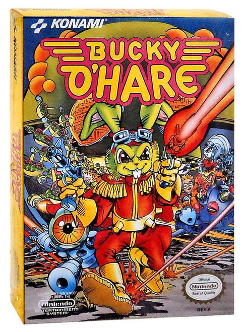 Nintendo NES Bucky O'Hare Video Game Cartridge [Factory Sealed]