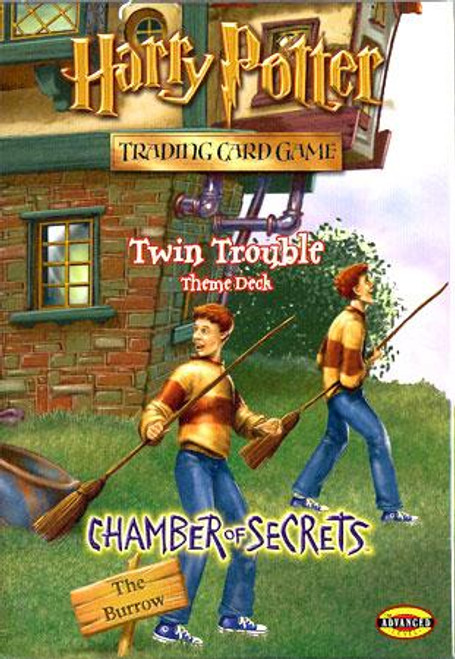 Harry Potter Trading Card Game Chamber of Secrets Twin Trouble Theme Deck